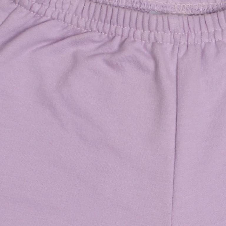 Shorts Bebê Tip Top Cotton Lilás